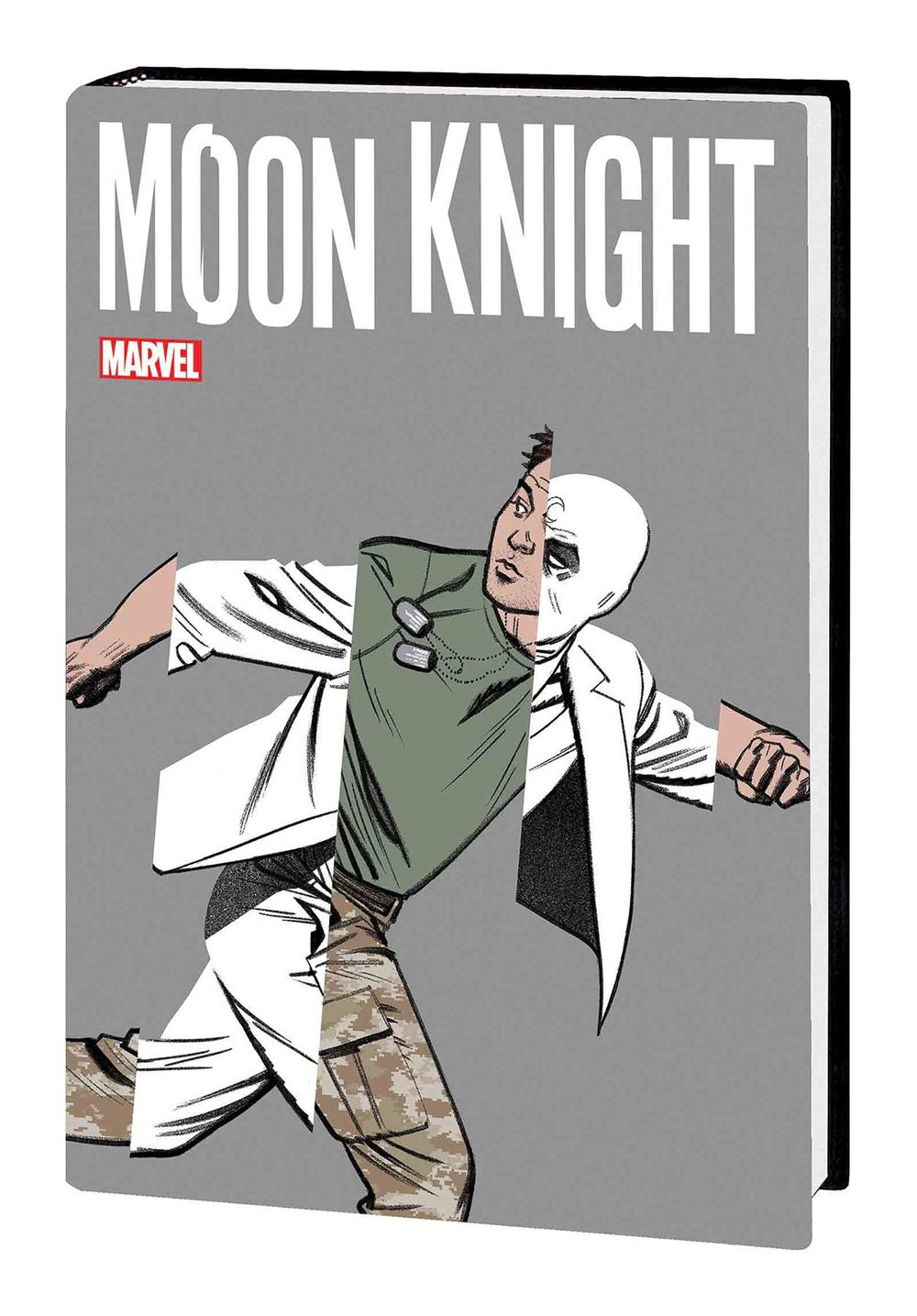 MOON KNIGHT BY JEFF LEMIRE AND GREG SMALLWOOD HC