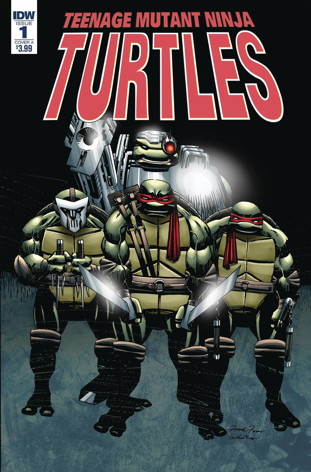 TMNT URBAN LEGENDS #1