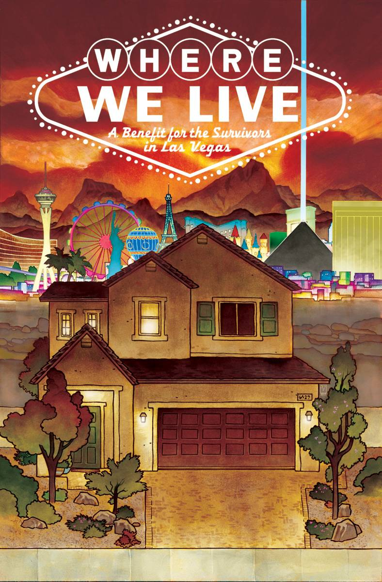 WHERE WE LIVE LAS VEGAS SHOOTING BENEFIT ANTHOLOGY