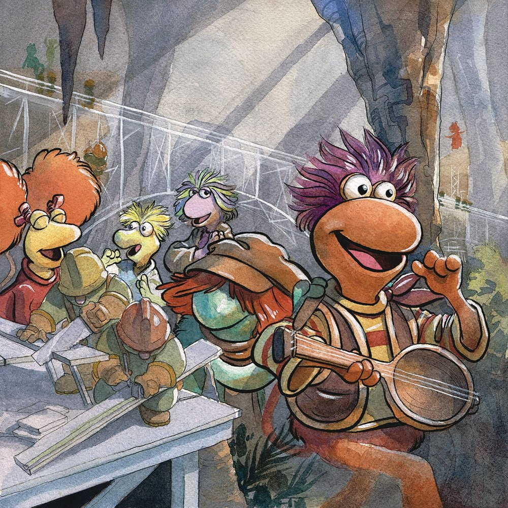 JIM HENSON FRAGGLE ROCK #1