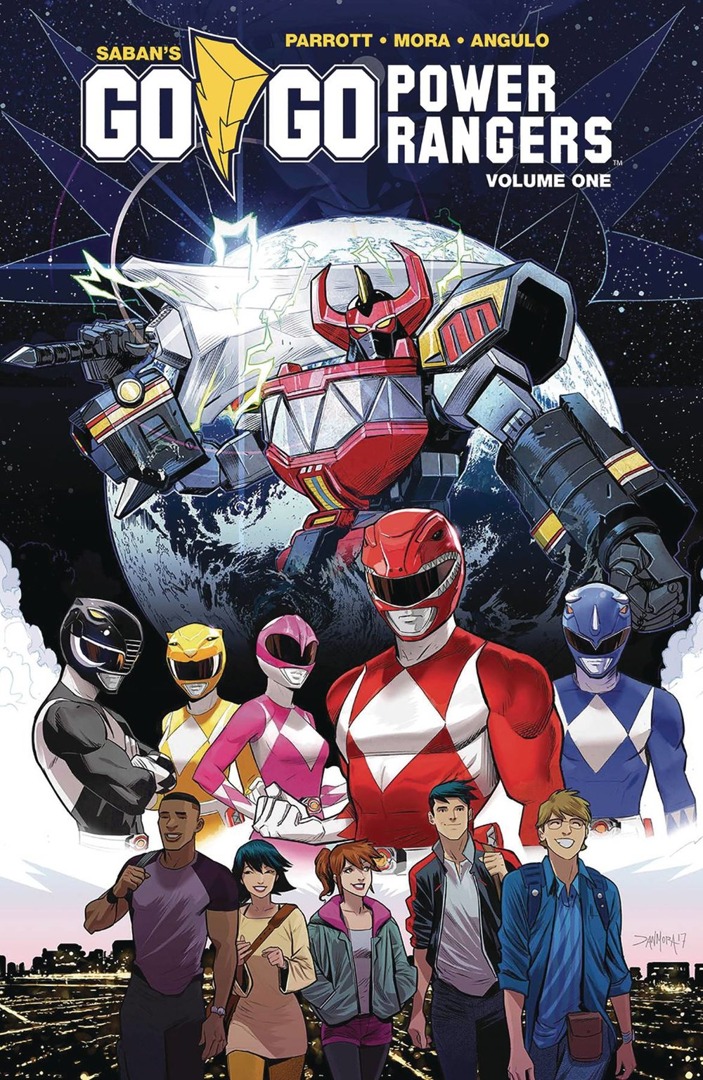 GO GO POWER RANGERS GN VOL 01