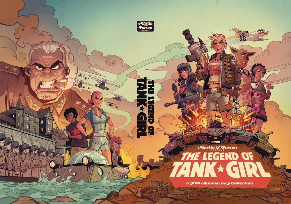 LEGEND TANK GIRL HC