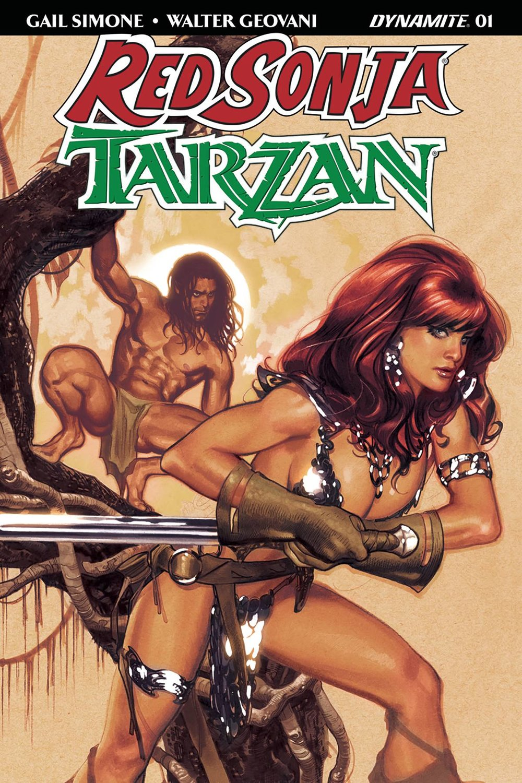 RED SONJA TARZAN #1