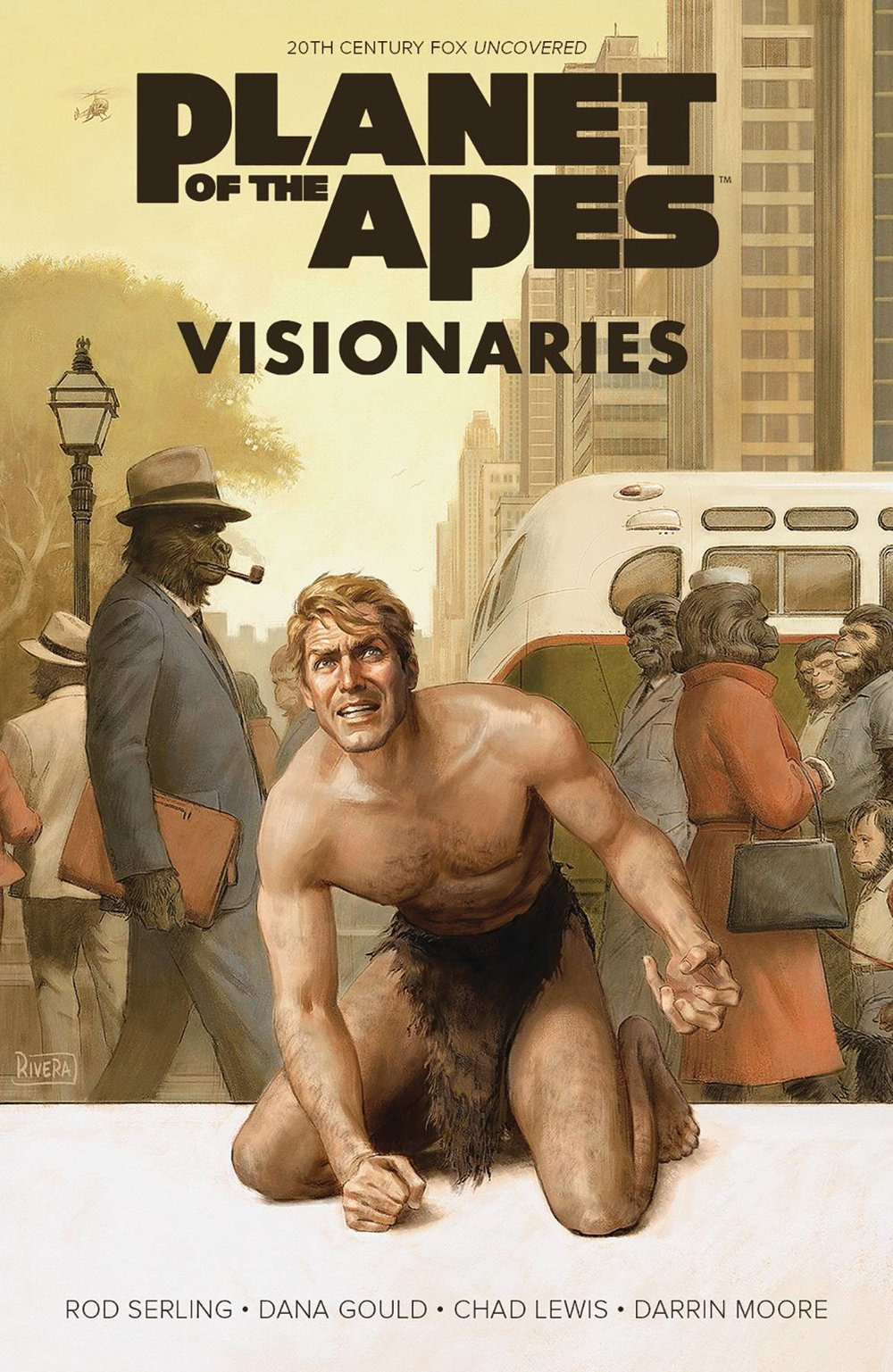 PLANET OF APES VISIONARIES ROD SERLING ORIGINAL HC
