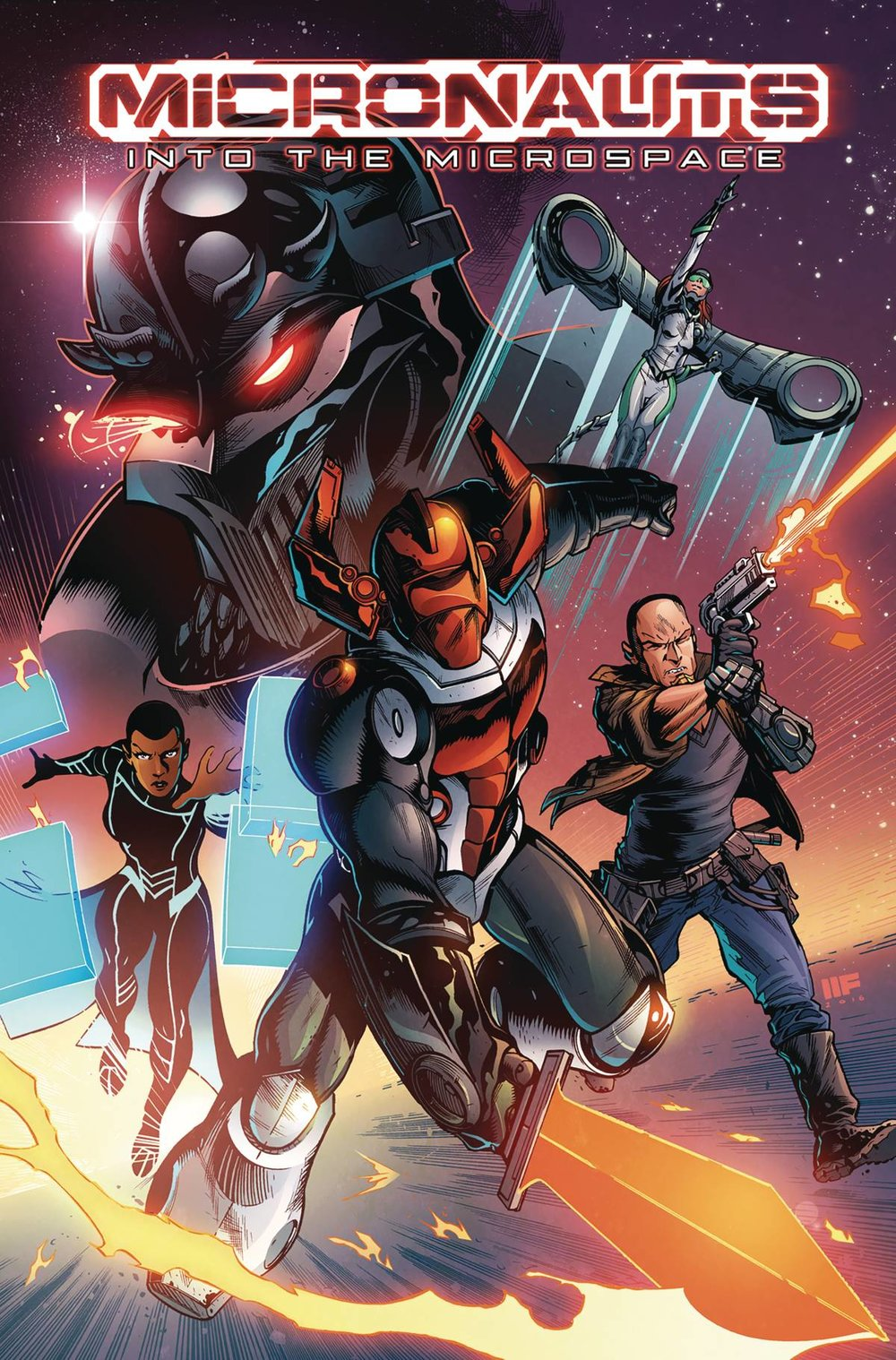 MICRONAUTS INTO THE MICROSPACE TP