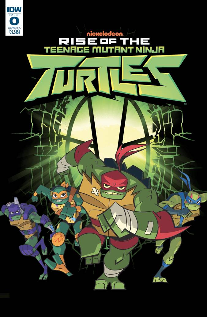 RISE OF TMNT #0