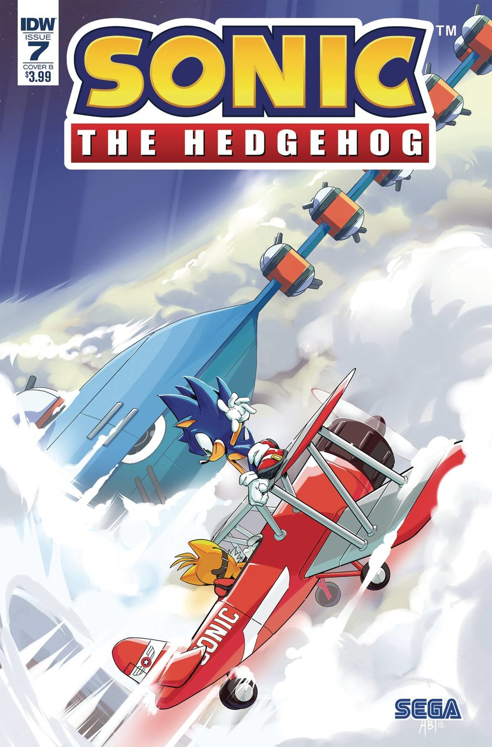 SONIC THE HEDGEHOG #7