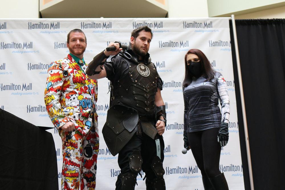 Male Costume Winner!