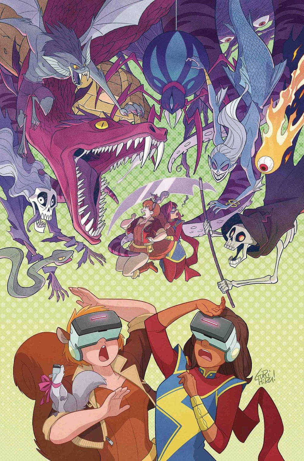 MARVEL RISING MS MARVEL SQUIRREL GIRL #1