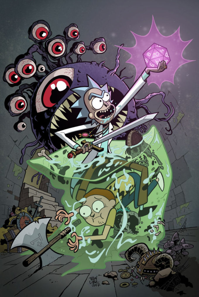 RICK & MORTY VS DUNGEONS & DRAGONS #1