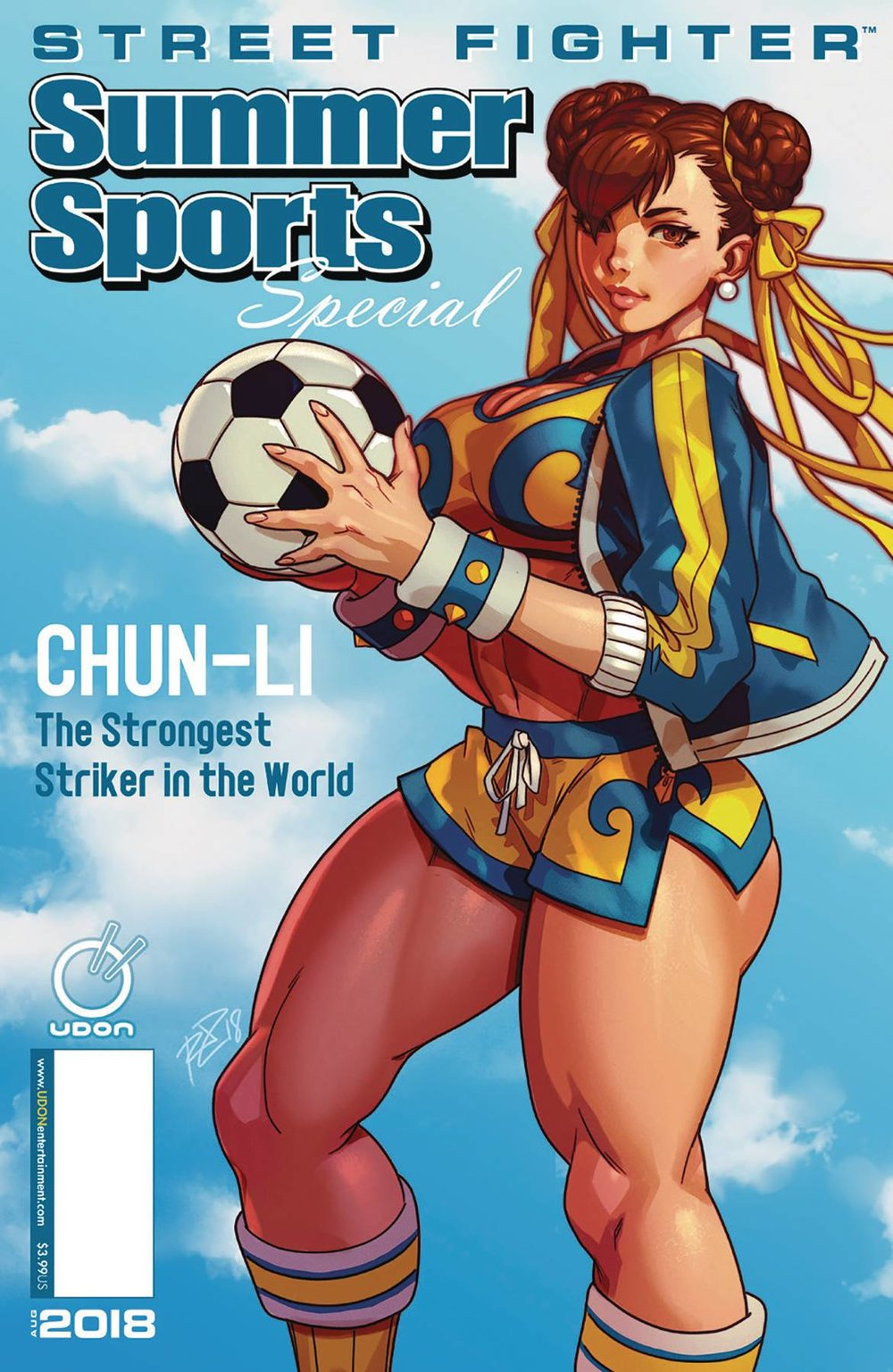 STREET FIGHTER SUMMER SPORTS SPECIAL #1