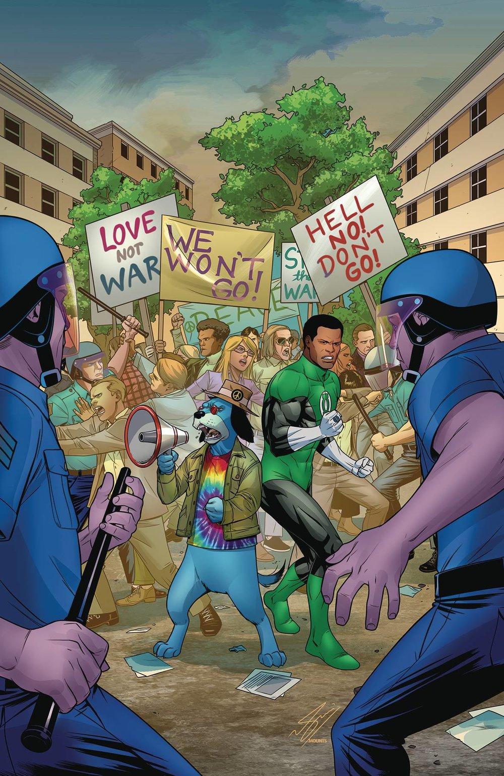 GREEN LANTERN/HUCKLEBERRY HOUND SPECIAL #1