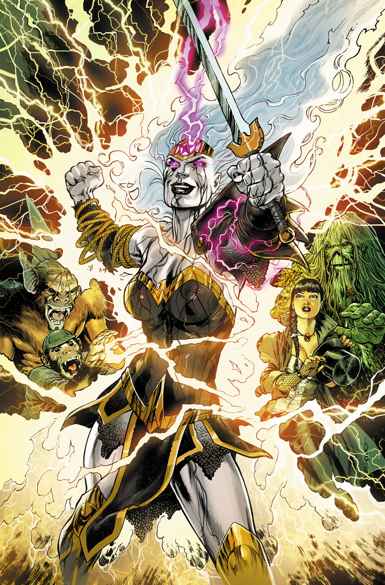 WONDER WOMAN AND JUSTICE LEAGUE DARK: THE WITCHING HOUR #1