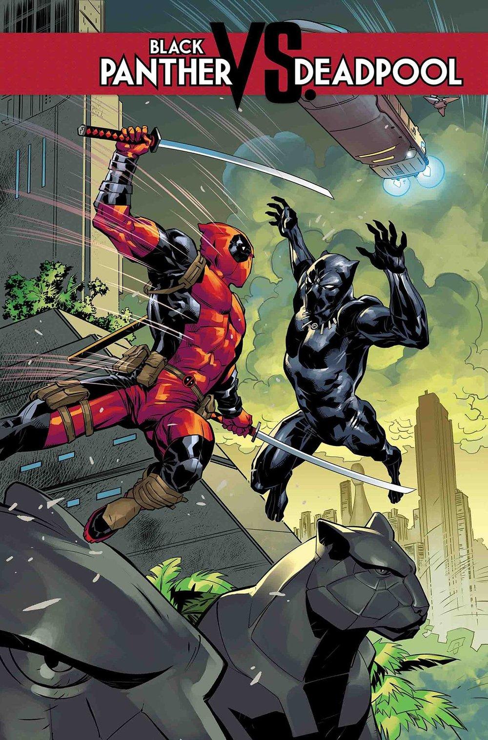 BLACK PANTHER VS. DEADPOOL #1 (of 5)