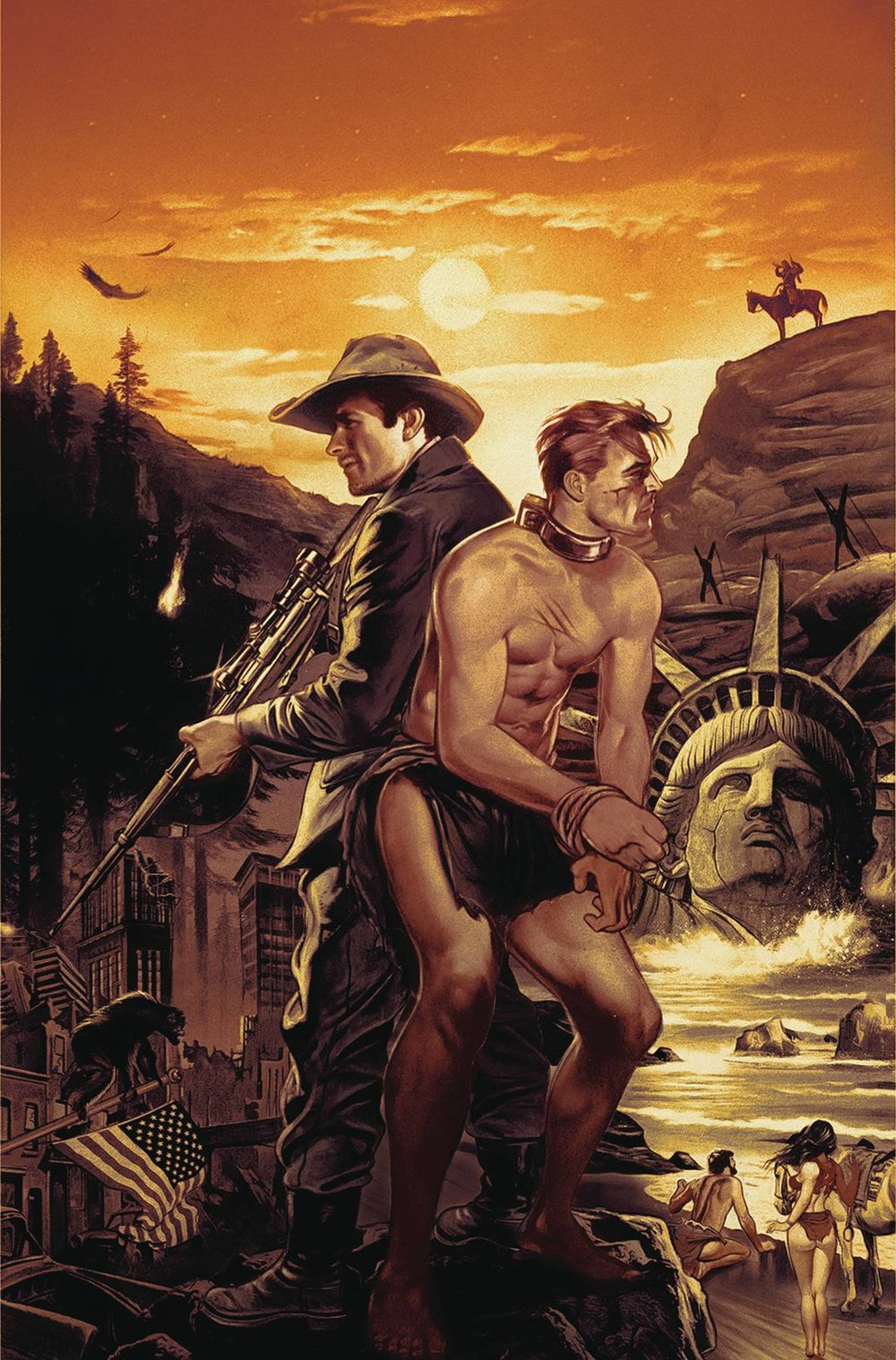 PLANET OF THE APES TIME OF MAN #1