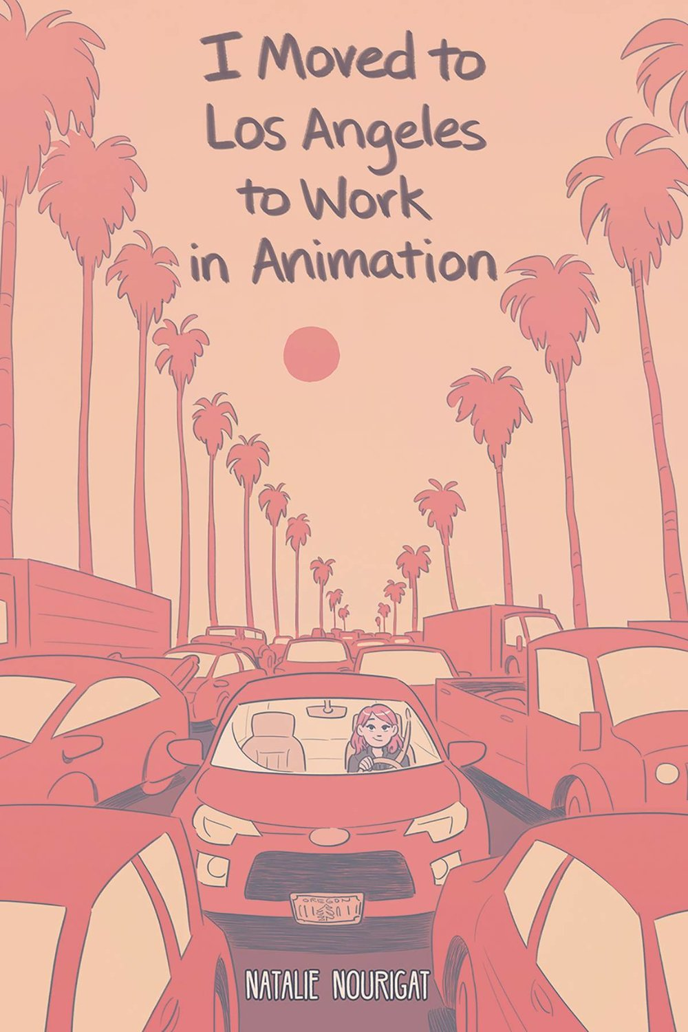I MOVED TO LOS ANGELES TO WORK IN ANIMATION ORIGINAL GN