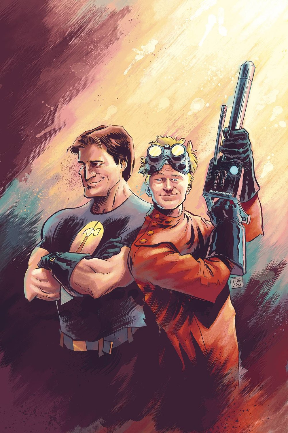 DR HORRIBLE BEST FRIENDS FOREVER #0