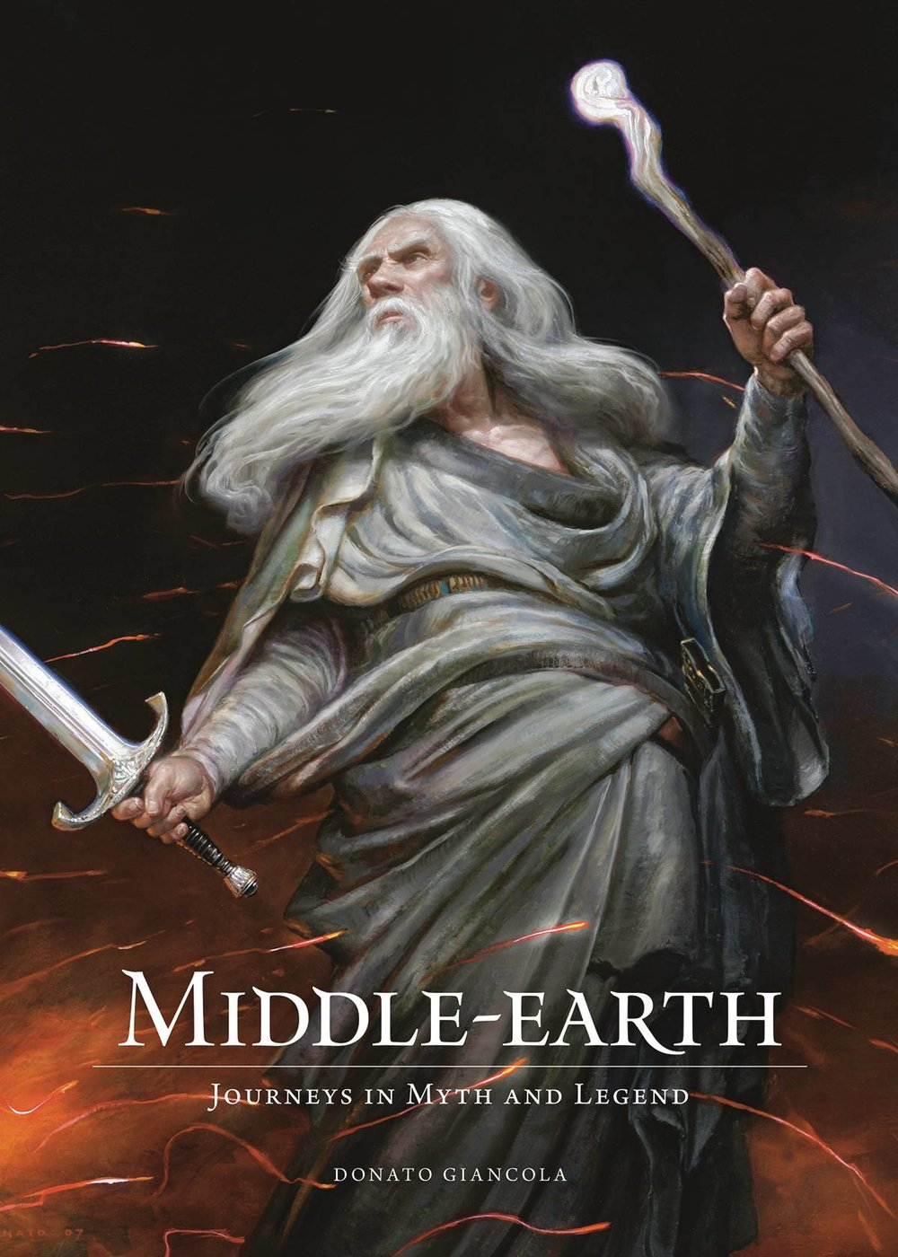 MIDDLE-EARTH HC JOURNEYS IN MYTH AND LEGEND