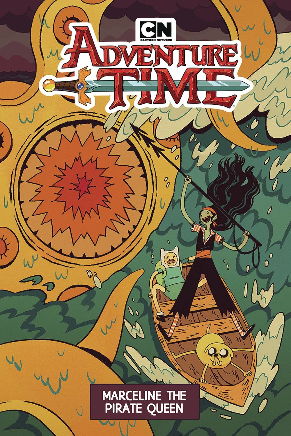ADVENTURE TIME MARCELINE PIRATE QUEEN ORIGINAL GN