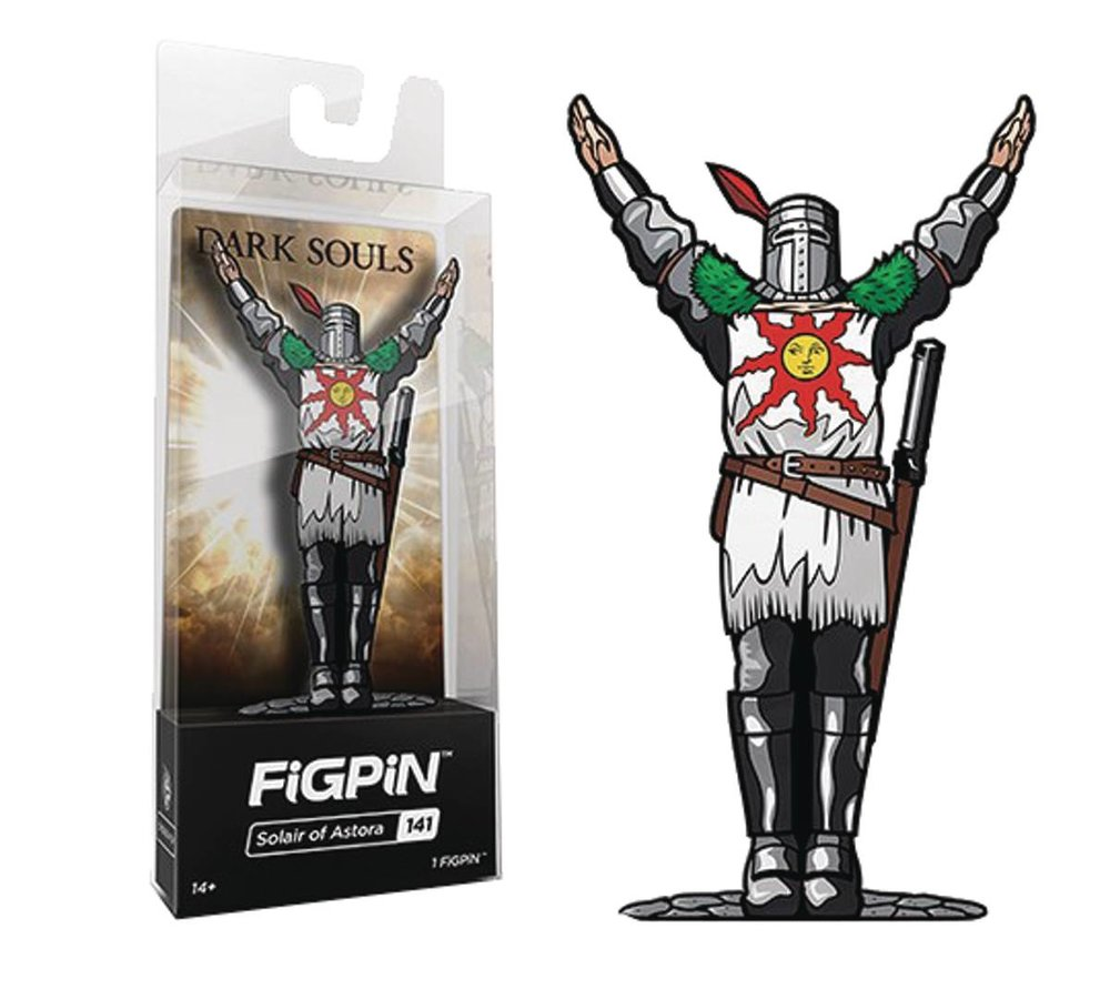 FIGPIN DARK SOULS SOLAIRE OF ASTORA PIN