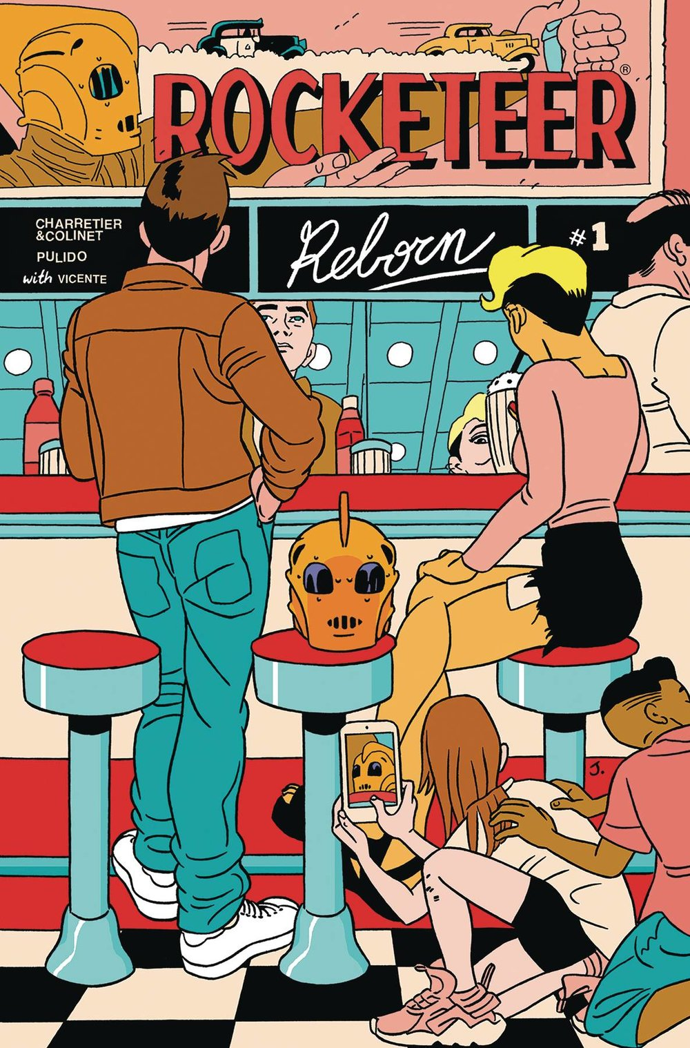 ROCKETEER REBORN #1
