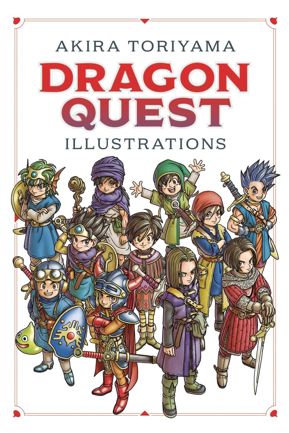 DRAGON QUEST ILLUSTRATIONS 30TH ANNIV ED HC
