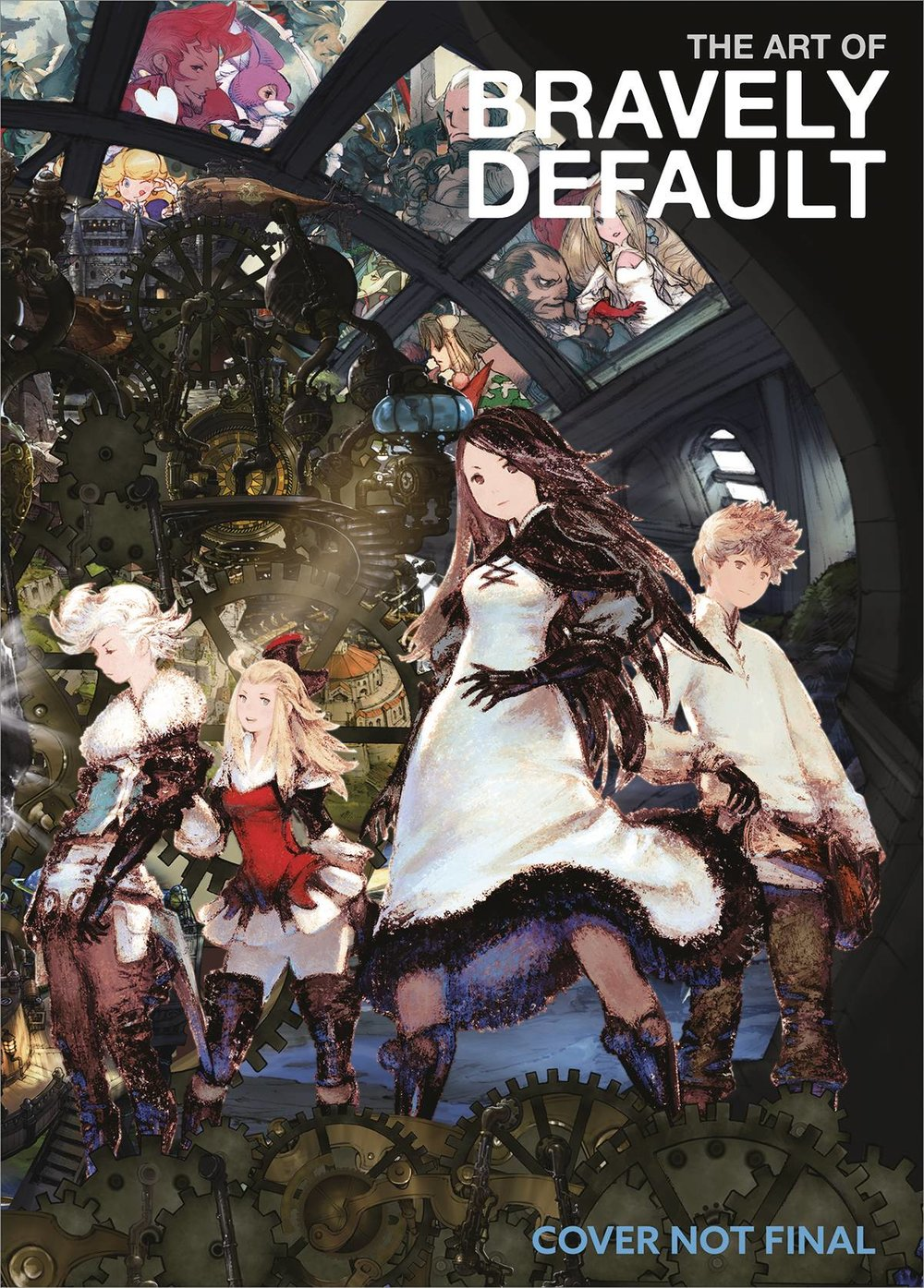 ART OF BRAVELY DEFAULT HC
