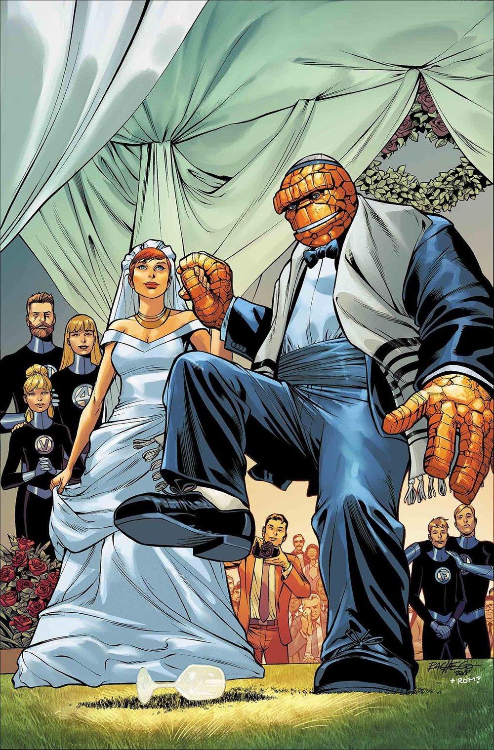 FANTASTIC FOUR WEDDING SPECIAL #1