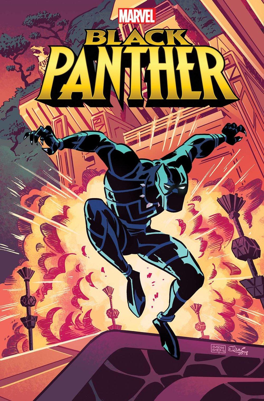 MARVEL ACTION BLACK PANTHER #1