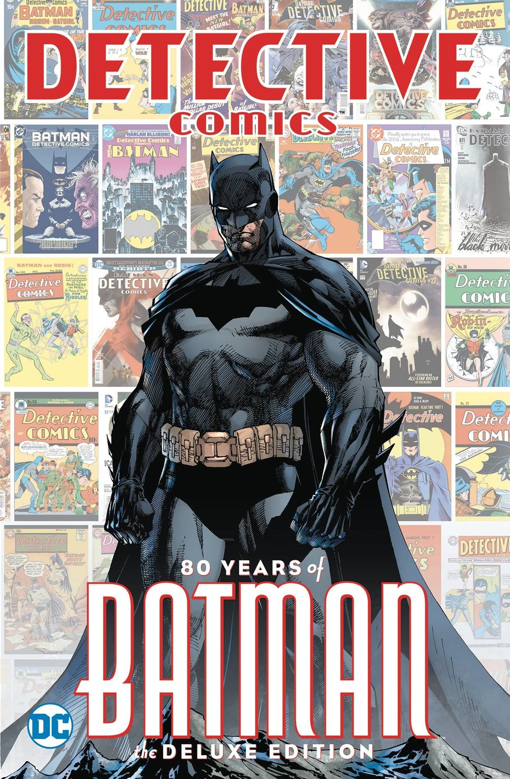 DETECTIVE COMICS 80 YEARS OF BATMAN DLX ED HC