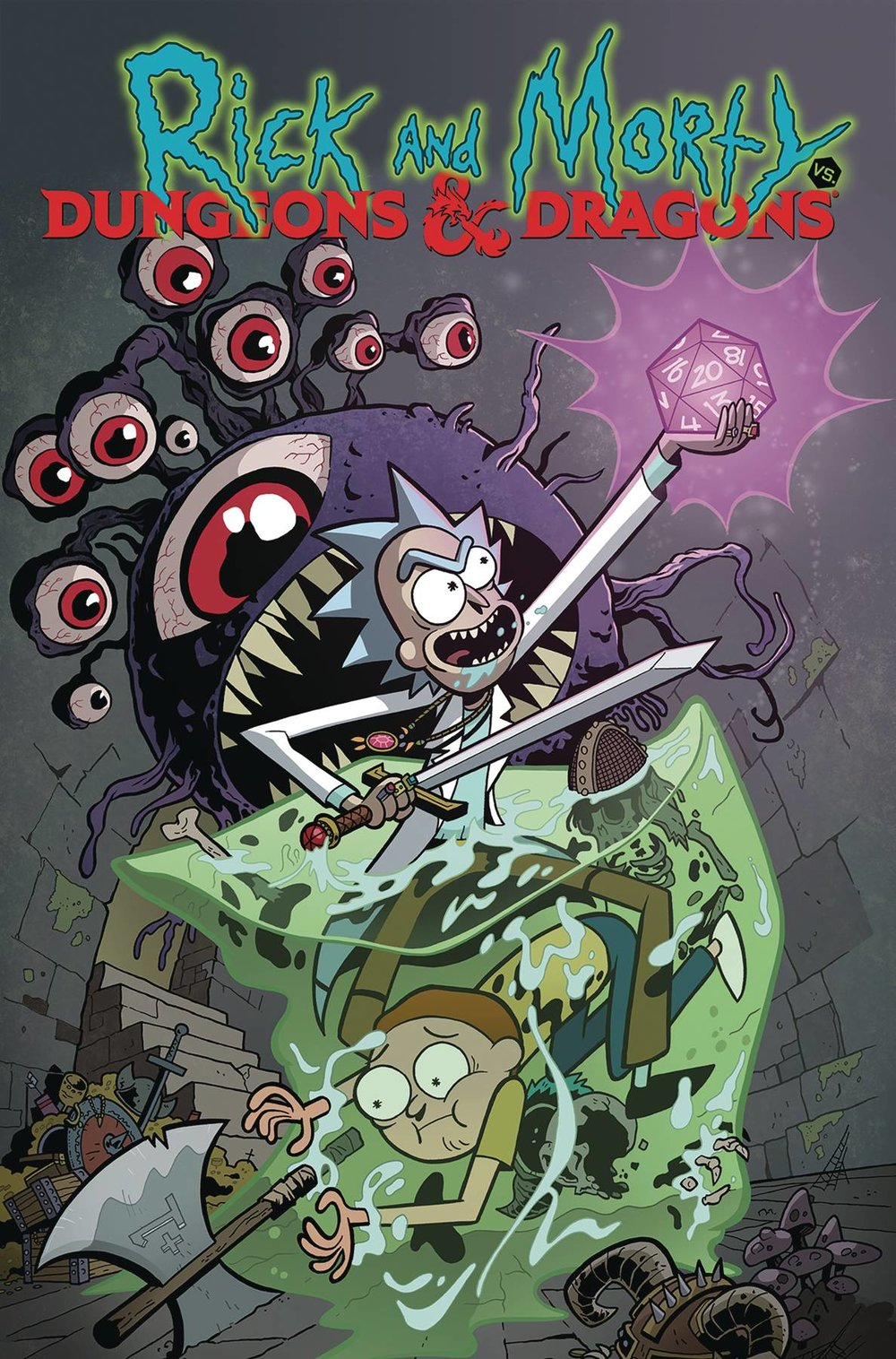 RICK AND MORTY VS DUNGEONS & DRAGONS TP