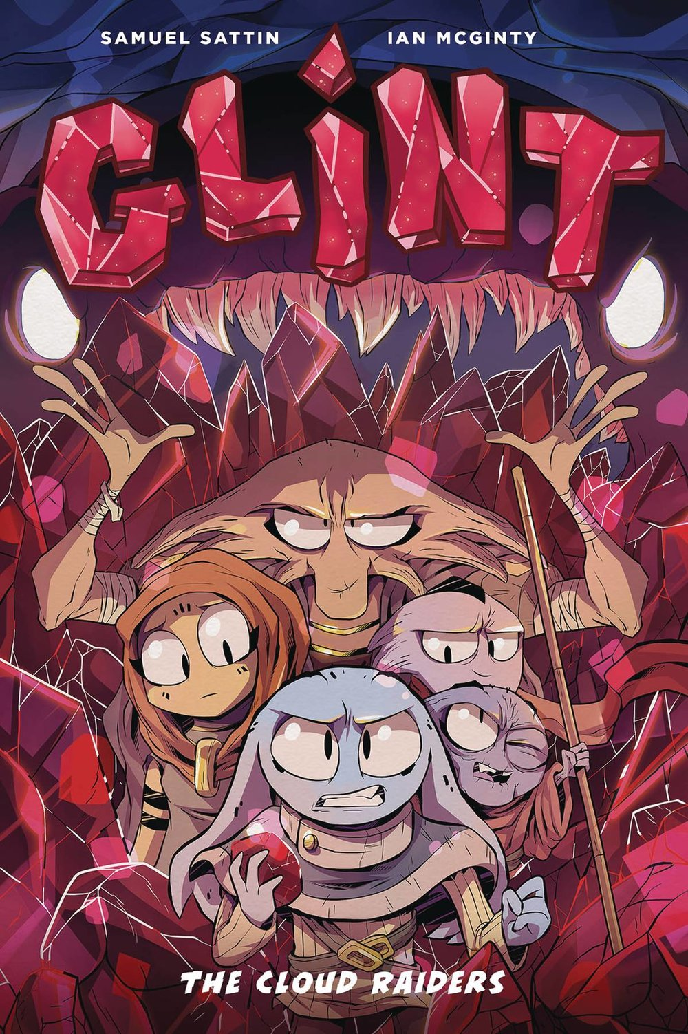GLINT GN BOOK 01 CLOUD RAIDERS