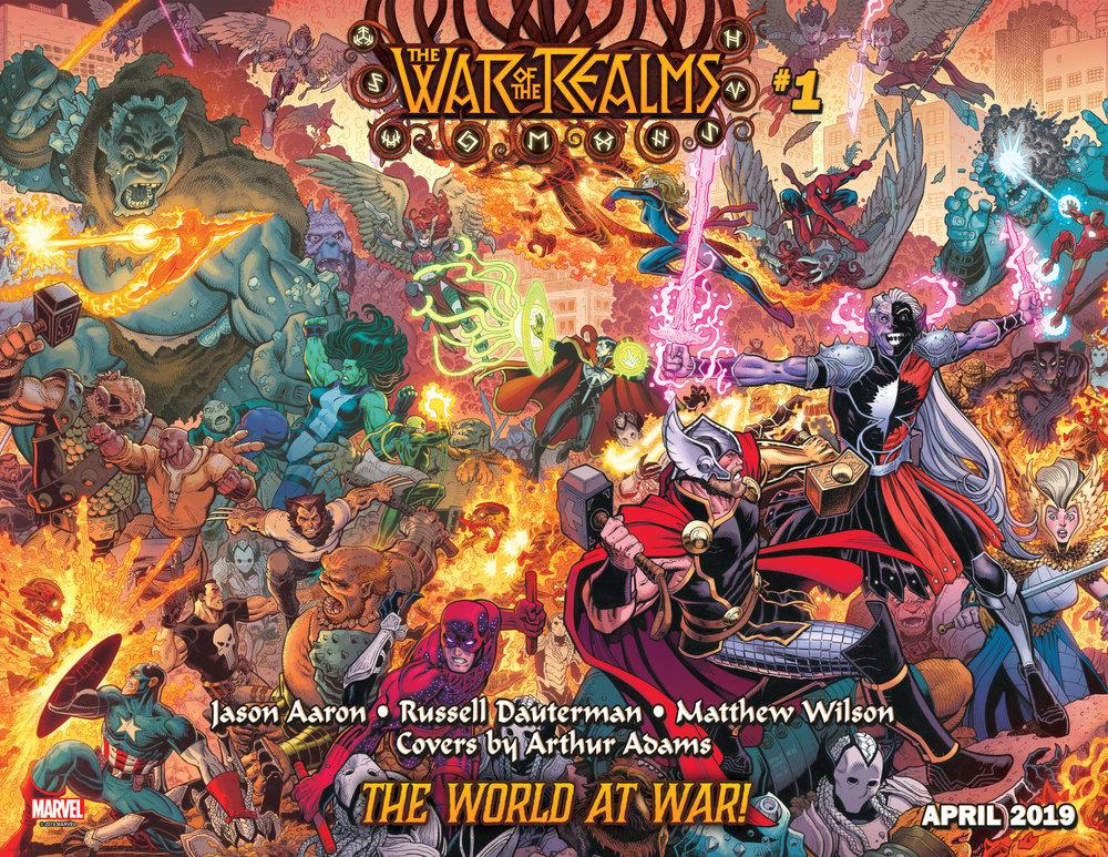 WAR OF REALMS #1