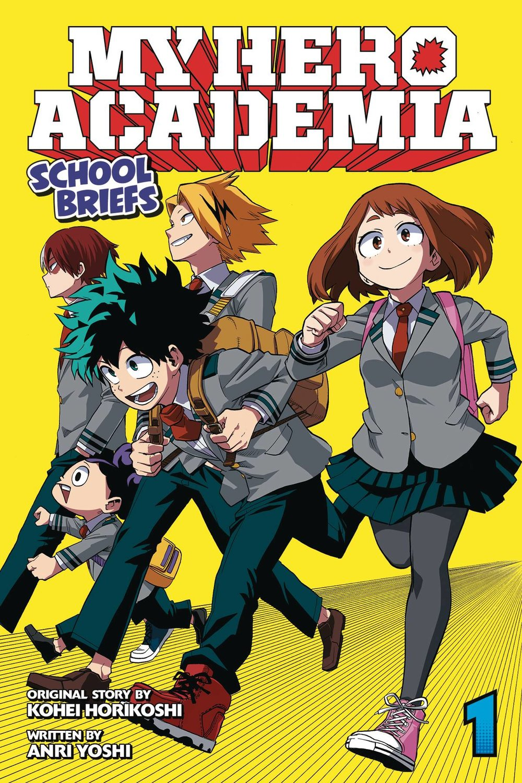 MY HERO ACADEMIA SCHOOL BRIEFS NOVEL SC VOL 01