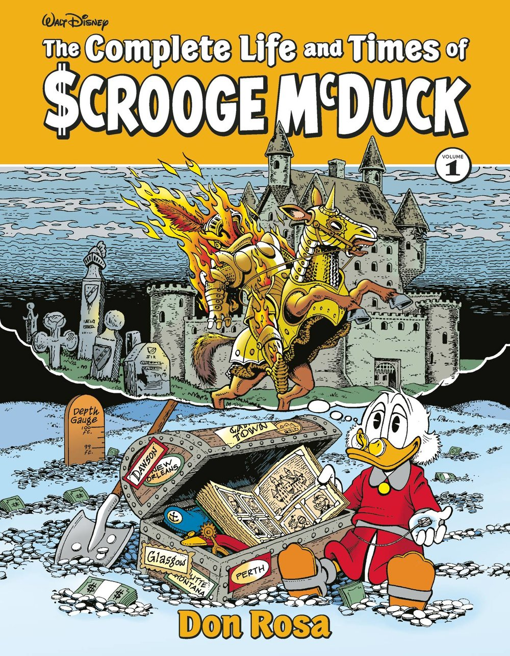 COMPLETE LIFE & TIMES UNCLE SCROOGE HC VOL 01