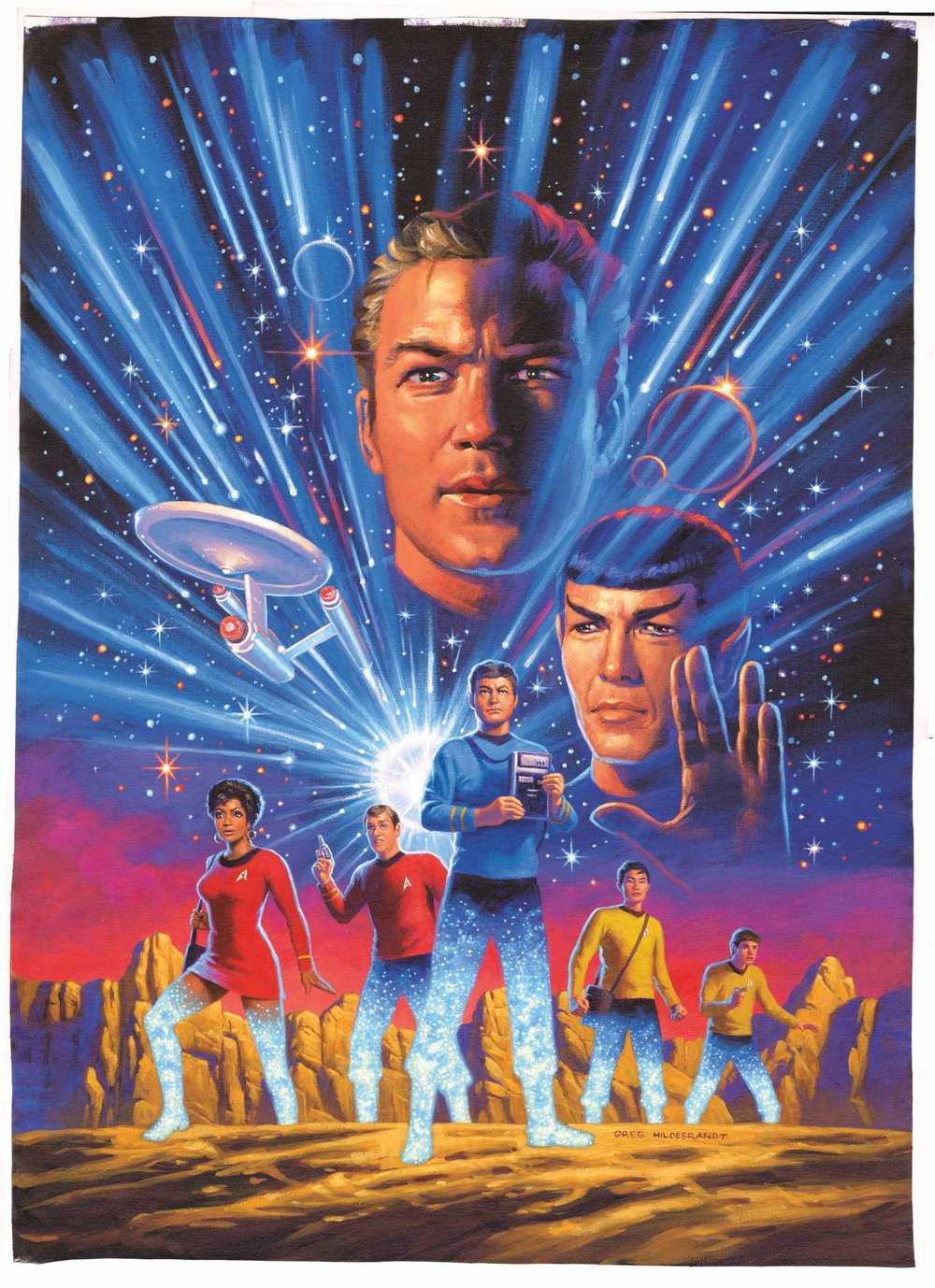 STAR TREK YEAR FIVE #1