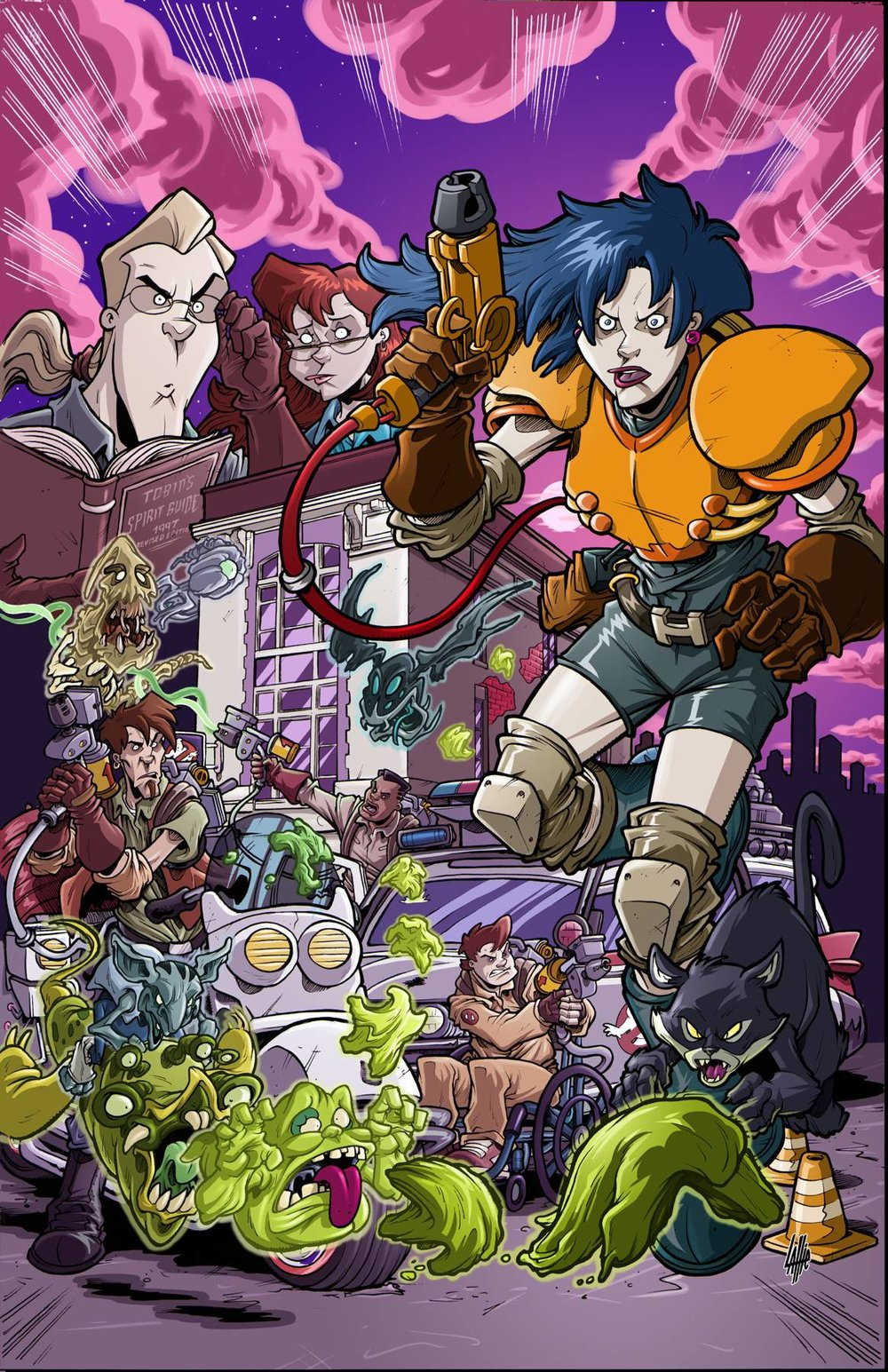GHOSTBUSTERS 35TH ANNIV EXTREME GHOSTBUSTERS
