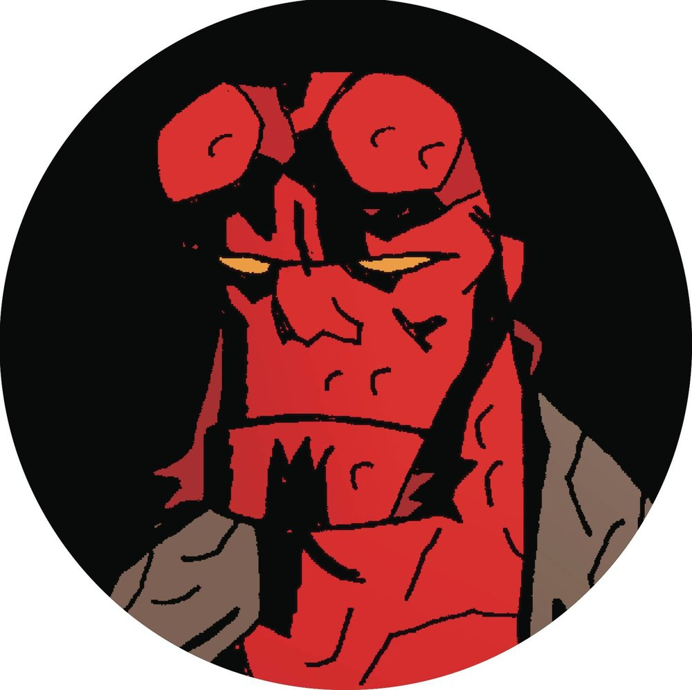 HELLBOY DAY 2019 1.5 INCH BUTTON