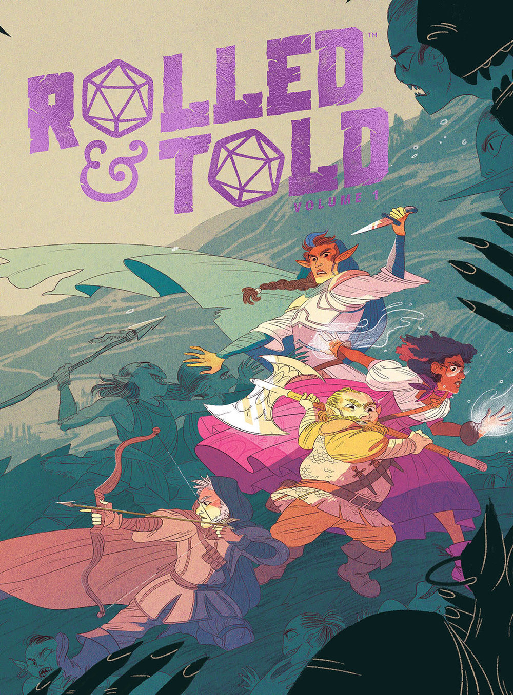 ROLLED AND TOLD HC VOL 01
