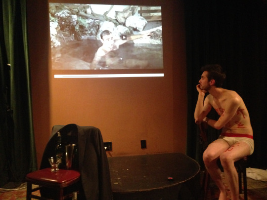 THUNDERBALLED - by Philip Gatesdirected by Sara LyonsDixon Place, 2014