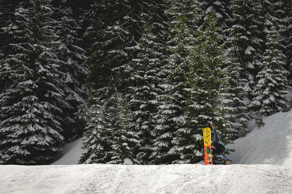 bluewood ski jump