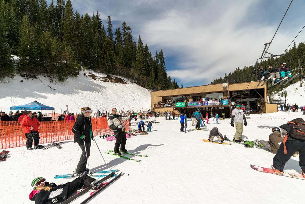wide angle ski bluewood lodge