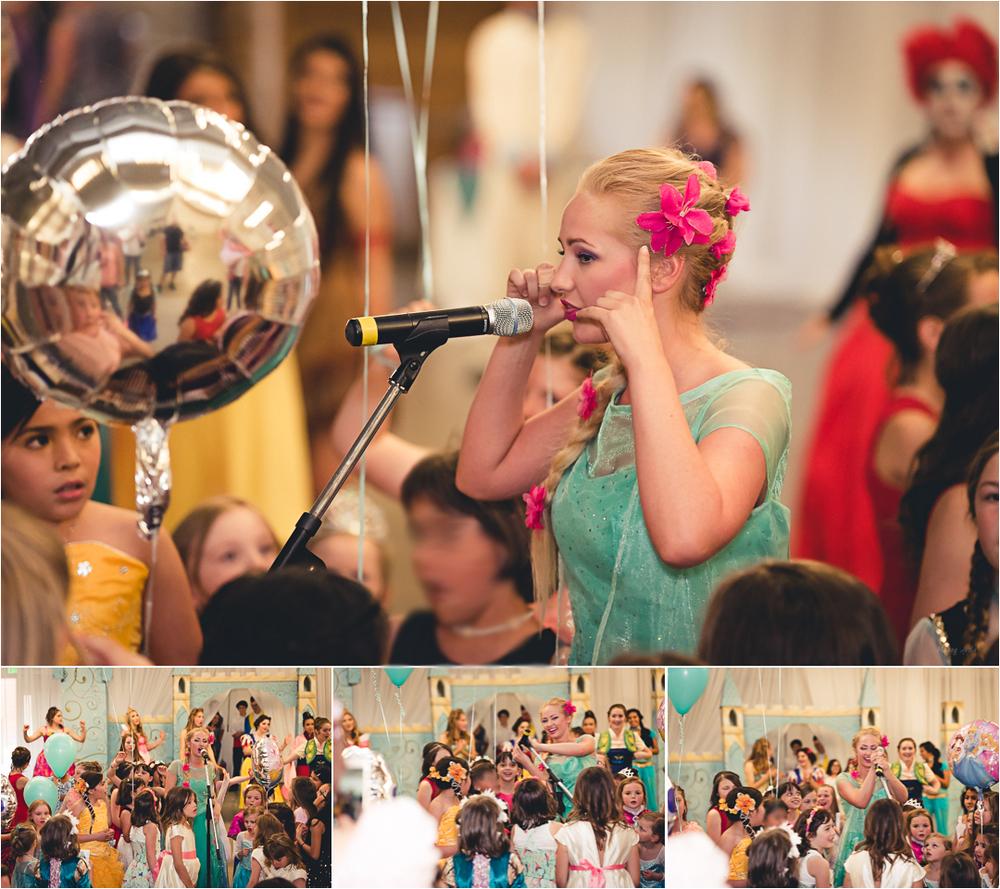 princess dancing and singing