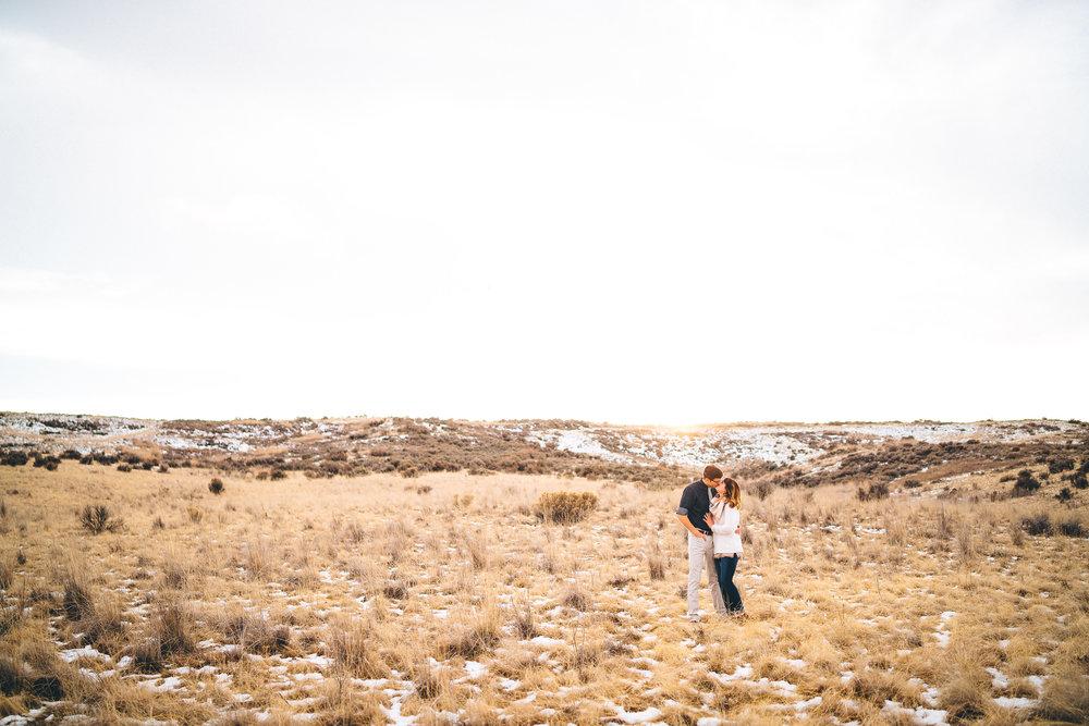 Ellensburg wedding photographers engagement session