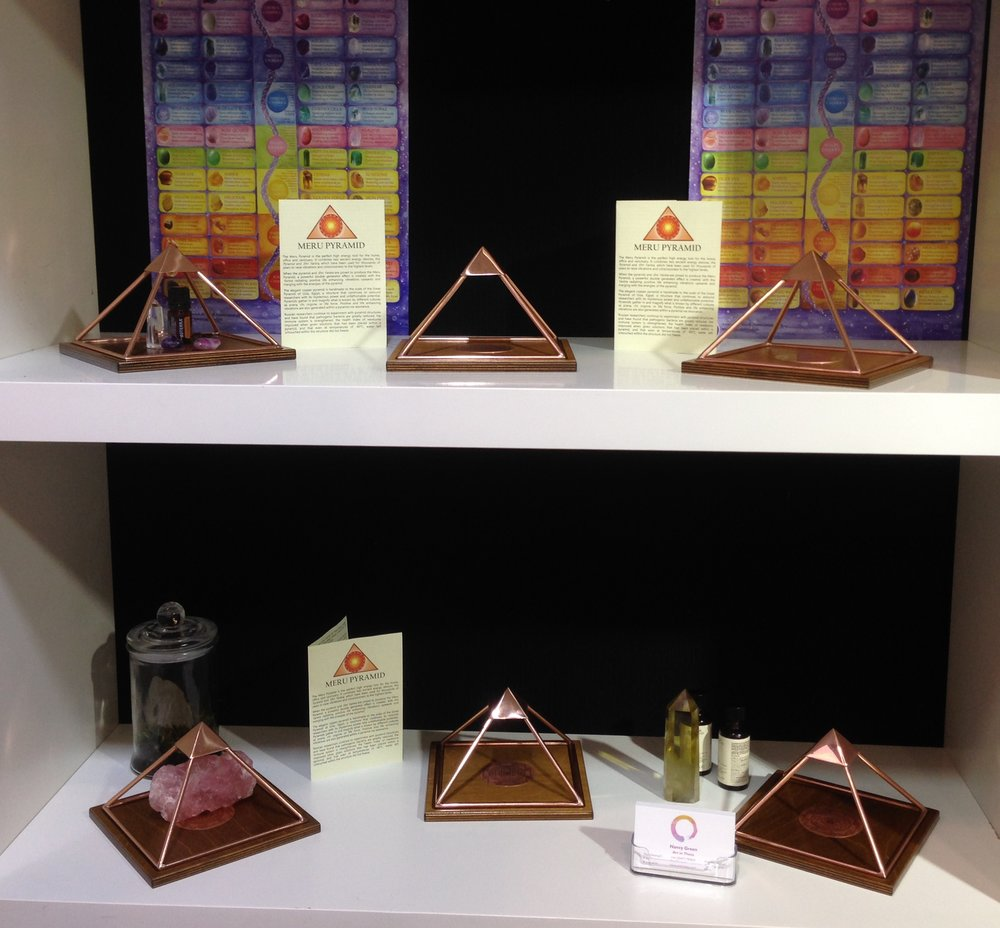 You loved the Meru Pyramids! - We loved sharing their magic too, and have another batch winging its way shortly to Oz if you missed out at the show.