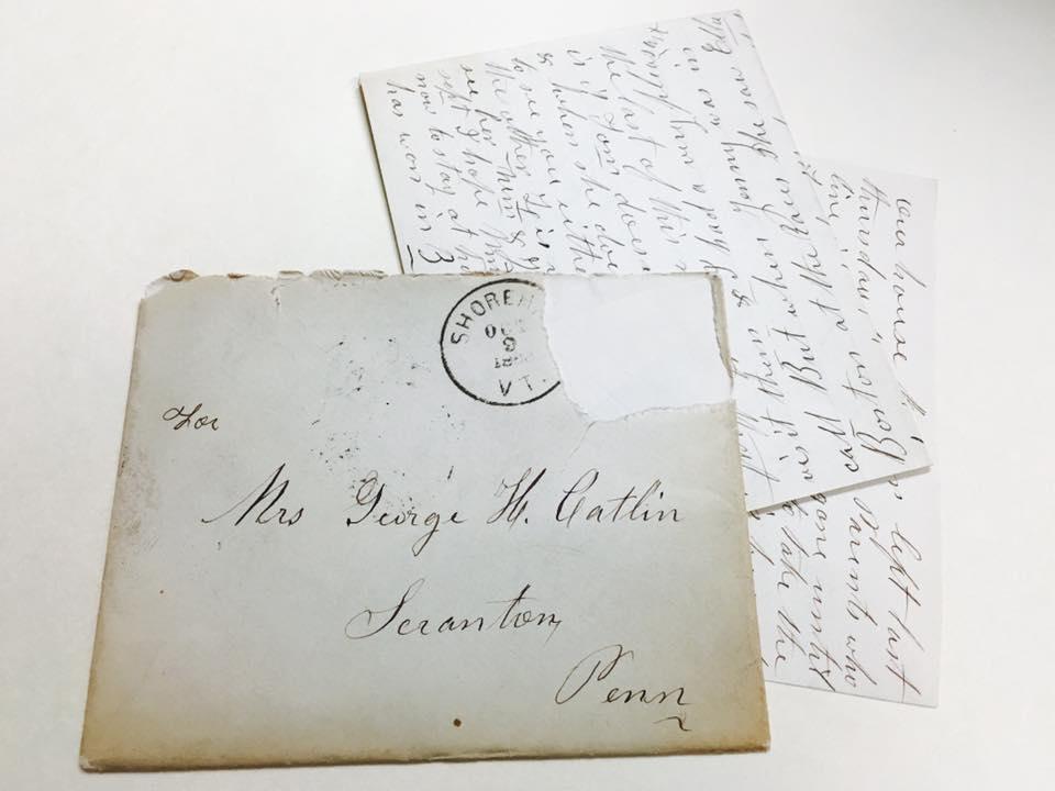 Catlin Family Papers, Lackawanna Historical Society, Scranton, Pa.
