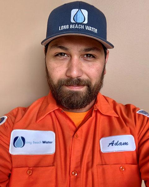 Adam Klempke, Long Beach Water Utility Supervisor
