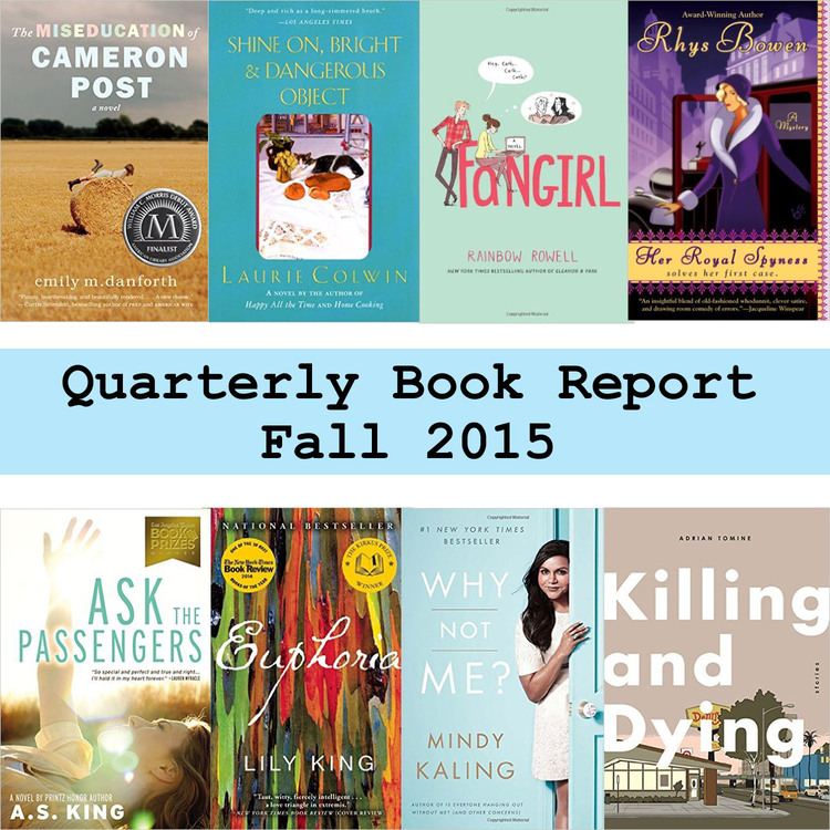 Quarterly book report fall 2015 ktmade this past fall was a bit of a rough time for me and i escaped into books with abandon i got way behind on podcasts and local news on the radio because fandeluxe Choice Image
