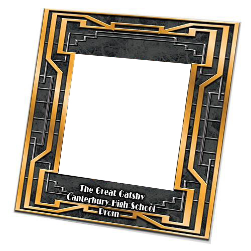 "Vogue Frame features: Measures 7 3/4"" high x 7 3/4"" wide Holds 5 x 5"" photo Made from acrylic"