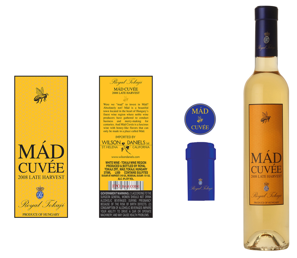 Mad Cuvée dessert wine